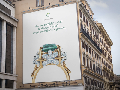 Carat Lane jewelry branding identity design graphic design logo