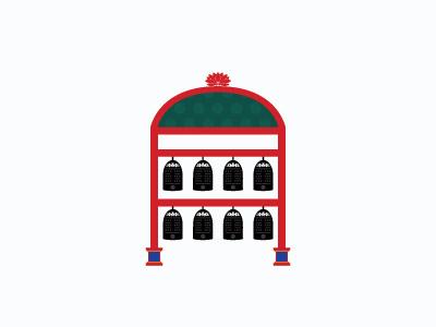 In Grand Style graphic design dynasty joseon instrument korean korea traditional illustration