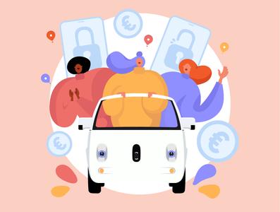 Sharing car