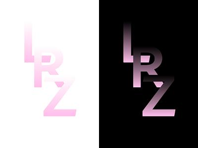 Leibniz-Rechenzentrum minimal typography logo adobexd