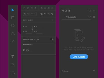 Adobe XD Darkmode Components madewithadobexd madewithxd material design dark mode darkmode dark ui clean design user interface flat design adobe xd