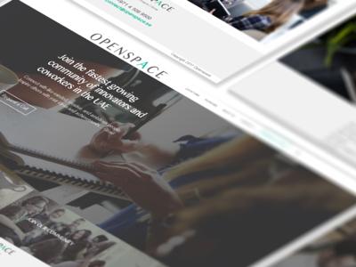 Co working Website Design