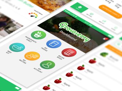 Growserry v0.1 Mobile App