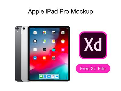 iPad Pro 2018 Mockup xd adobe xd free mockup free design 2018 ipad pro mockup