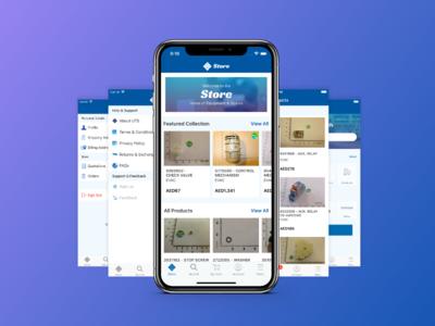 UTS store app design
