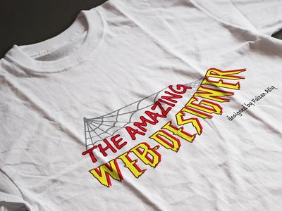 The Amazing Web designer t-Shirt