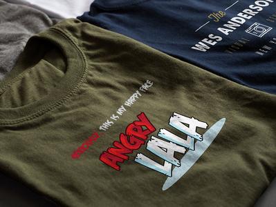 Angry Lala Shirt Design