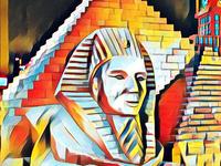 Illustration of sphinx
