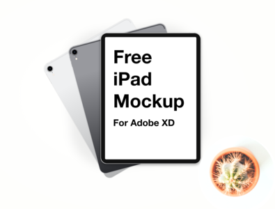 Freebies - iPad Pro 2018 Mockup