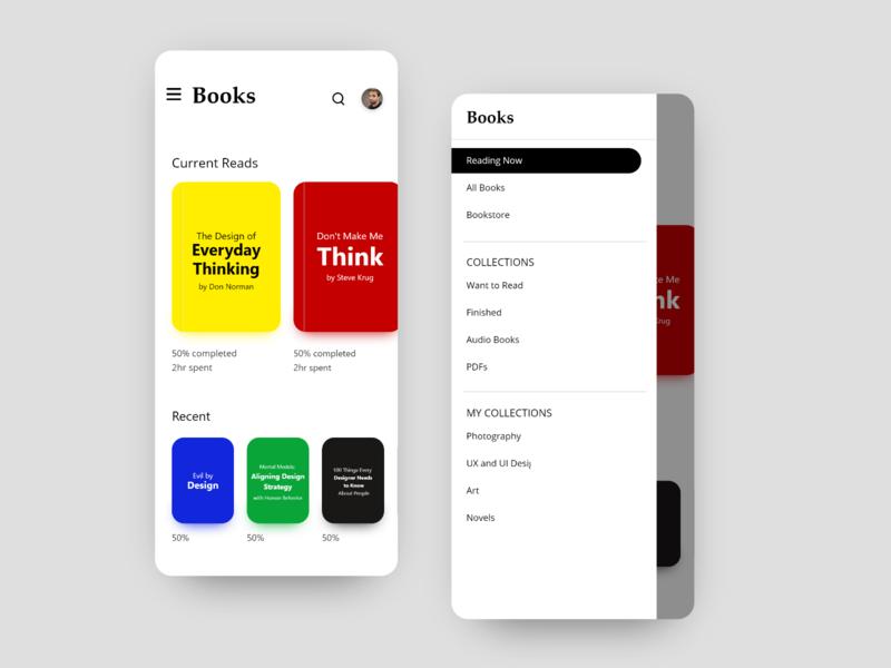 Books App - Material Design