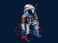 Astronaut Take Sacred Geometry