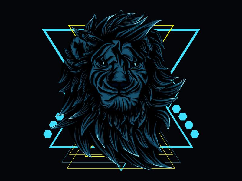 Lion Roar Sacred Geometry by Undersacred Studio on Dribbble