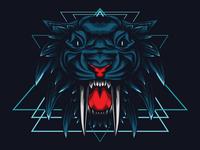 Mythical Tiger Sacred Geometry