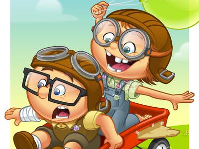 Carl & Ellie - Test Flight