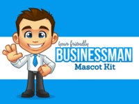 Businessman - Mascot Kit