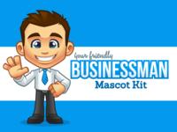 Businessman - Mascot Kit