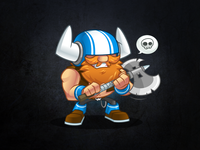 Awesome Viking Mascot Pack