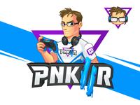 Pnkllr Gamer Mascot