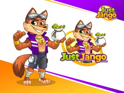 Just Jango - Mascot and Cartoon Logo Design