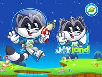 Joyland - Mascot Design, Cartoon Logo And Website Illustrations
