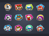 HealthyHeroes Stickers
