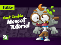 Zombie Geek Mascot Design Tutorial
