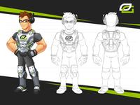 Opticscump - Gamer Mascot