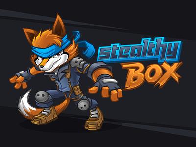 Fox Mascot Design gamer mascot xbox playstation fox solidsnake gamenews gamerreview discord twitch esportslogo esportsmascot esports gamer characterdesign mascot charactermascot brandcharacter mascotdesign