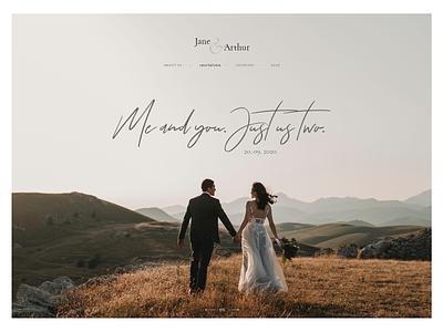 Wedding Invite webdesign web rsvp couple wordpress wedding invitations elegant wedding invite wedding
