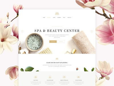 Aviana wordpress website mockup web beauty spa beauty shop therapy lifestyle blog life coach massage psychotherapist nutritionist cosmetics beauty lifestyle spa