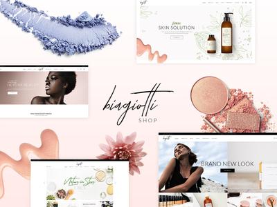 Biagiotti cosmetic store elegant shop wordpress woocommerce ecommerce skincare make up health cosmetics shop cosmetics beauty products beauty shop beauty