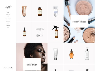 Biagiotti - Product Gallery clean website wordpress modern shop minimal elegant product gallery beauty shop beauty make up product shop cosmetic shop cosmetic store cosmetic