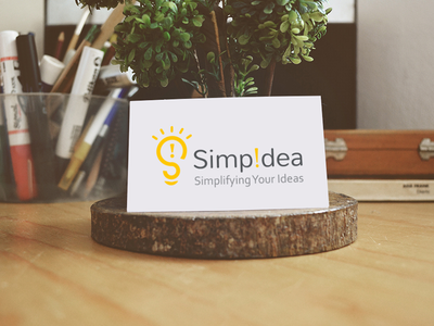 Simpidea logo design branding simple idea logo