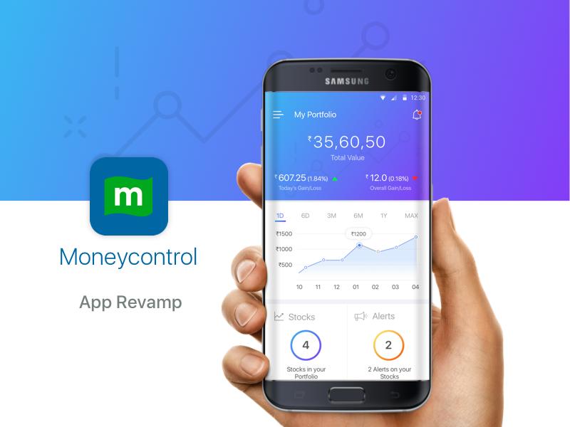 Moneycontrol | Revamp by Saad | Dribbble | Dribbble