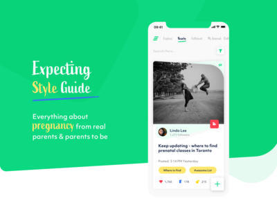 Style Guide - Expecting