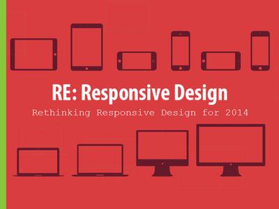 Re Responsive Design