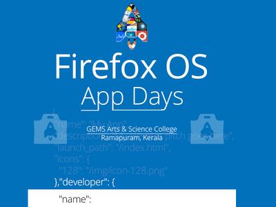 Firefox Os Appdays