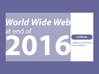 World Wide Web At End Of 2016 2016 world wide web