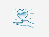 We Love Milano - Heart Illustration