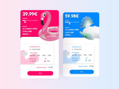 Credit Card Form | Daily UI #002