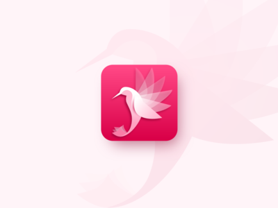 Icon App Colibri | Daily UI 005