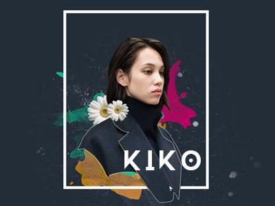 Kiko  mixed media graphic design design