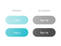 Minimal Log In and Sign Up Button