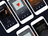 Music app Theme