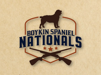 Boykin Spaniel Nationals Logo
