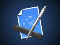 Sketch Measure Icon