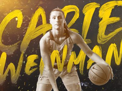Valparaiso University Women's Basketball Social Media graphic