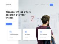 Demando - Recruitment Marketplace Website