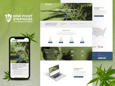 Nine Point Strategies Website Design/Development web development web design ux web design