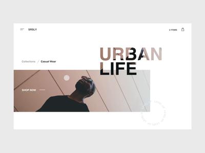 Urban Life Concept
